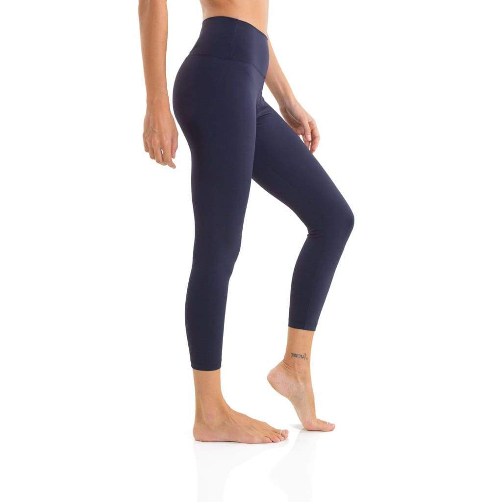 Solid Compression Legging Black