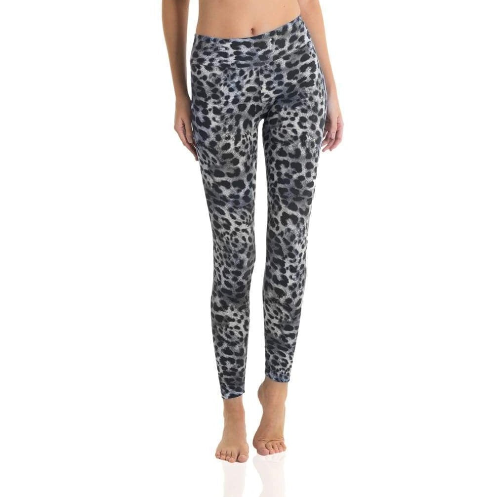 7/8 Eco Legging Black Cheetah
