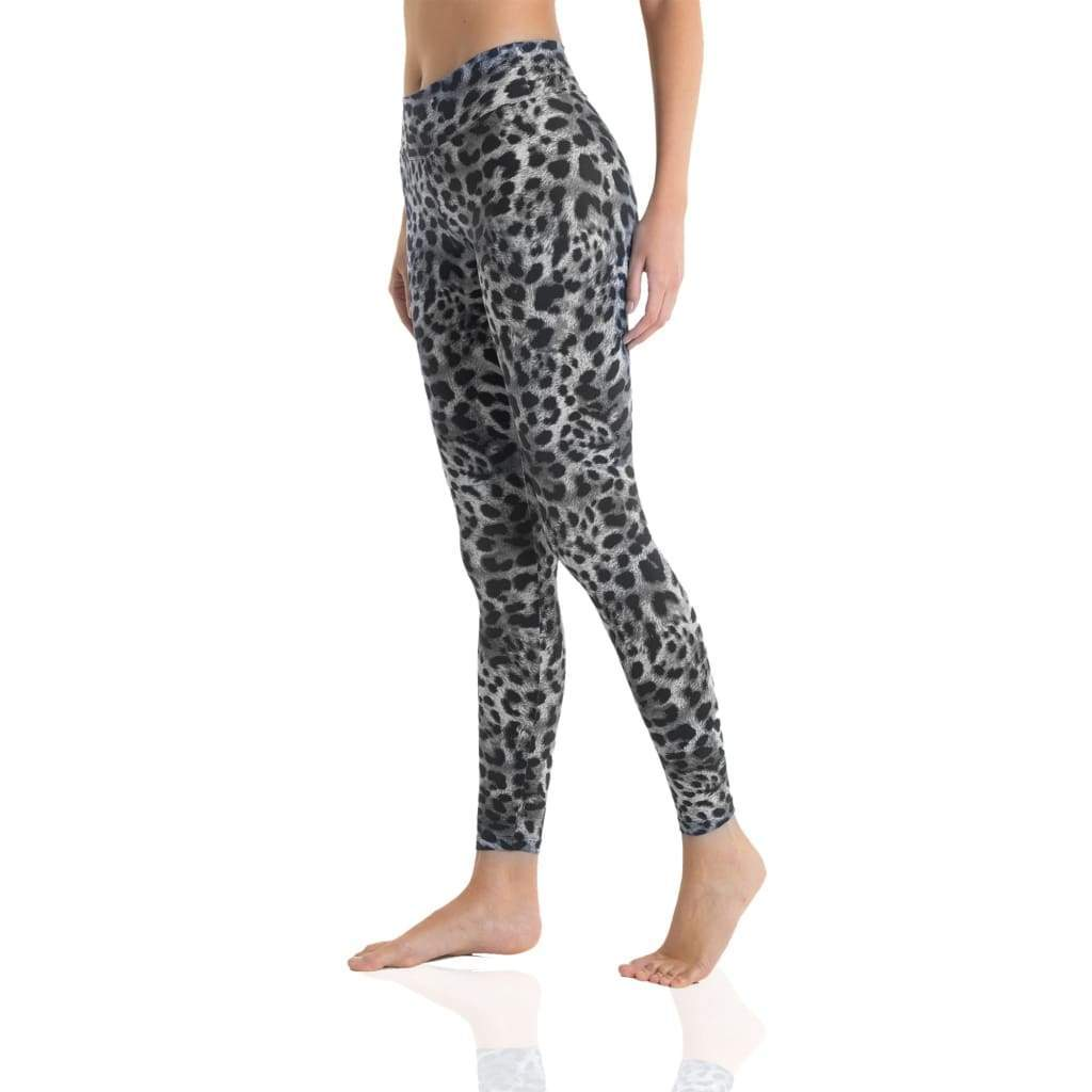 Legging 7/8 Eco Black Cheetah - Mali Shop