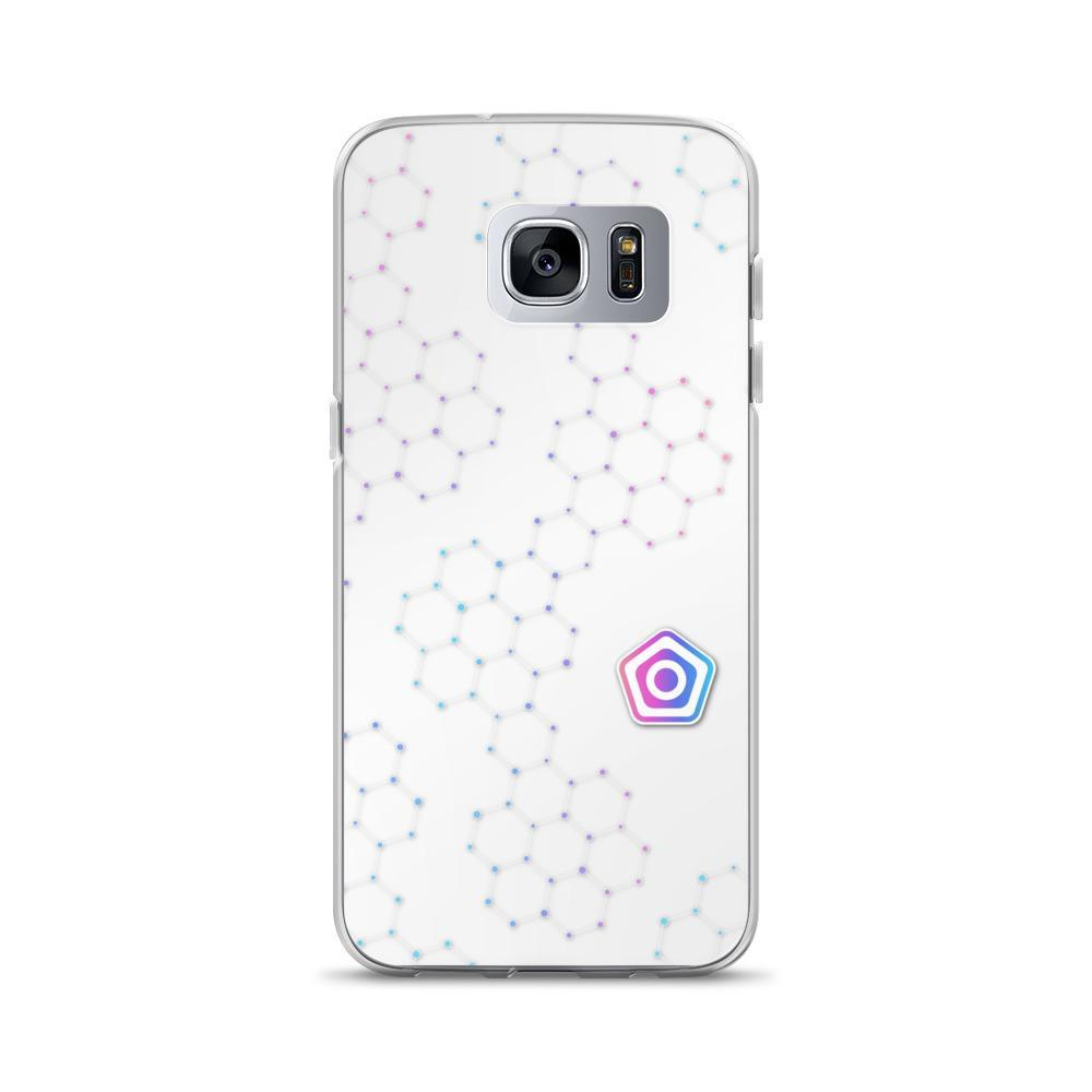 PROTECT // Hex Logo Galaxy Case