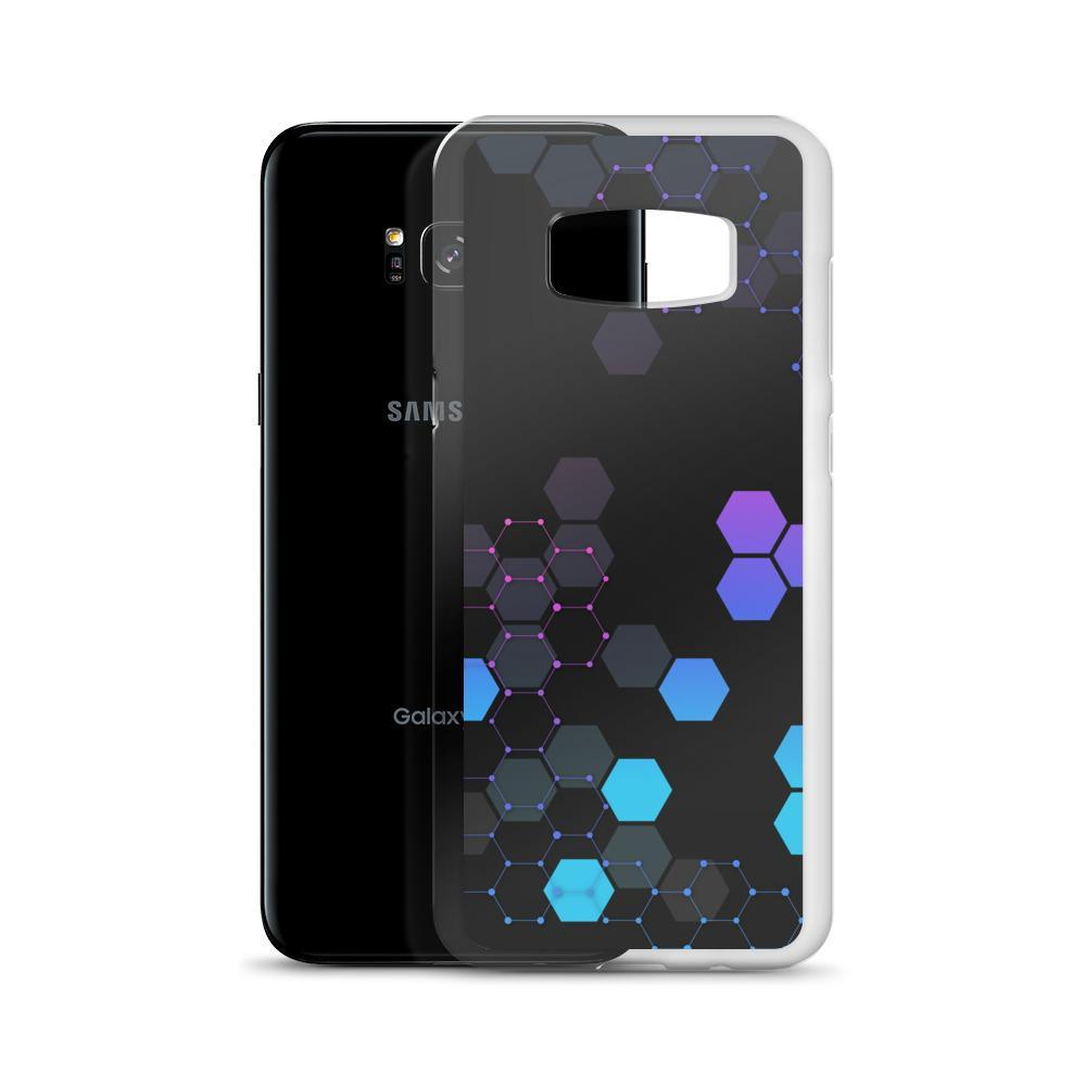 PROTECT // Hex Grid Galaxy Case