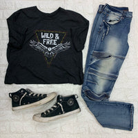 Wild and Free Eagle Tee