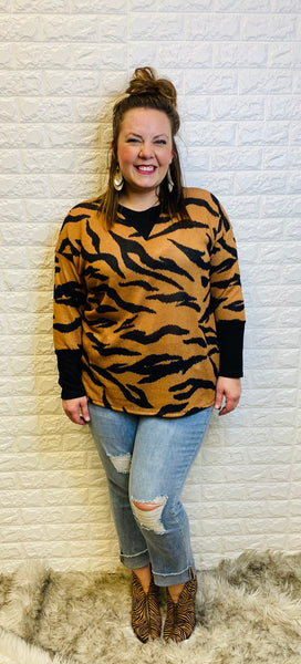 Lovely Large Tiger Top