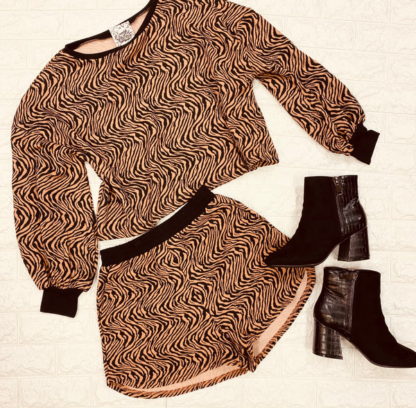 Tiger Lounge Set