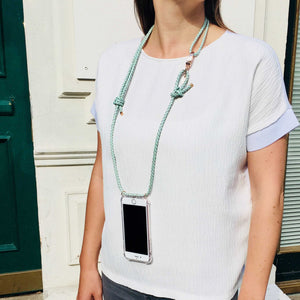 "Handykette Leder ""Fresh as Mint"" - NURI"