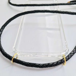 Handykette Leder - Midnight Black - NURI