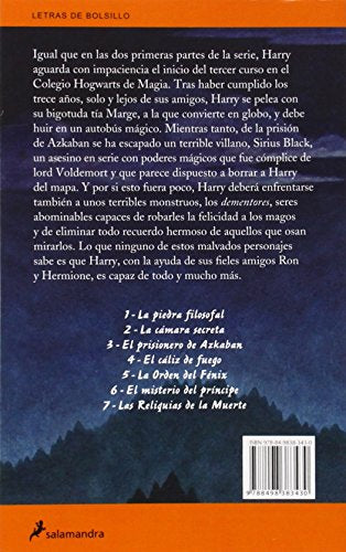 Harry Potter y el prisionero de Azkaban