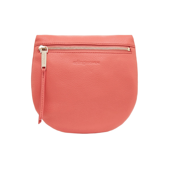 Macy Zip Clutch - Dusty Coral