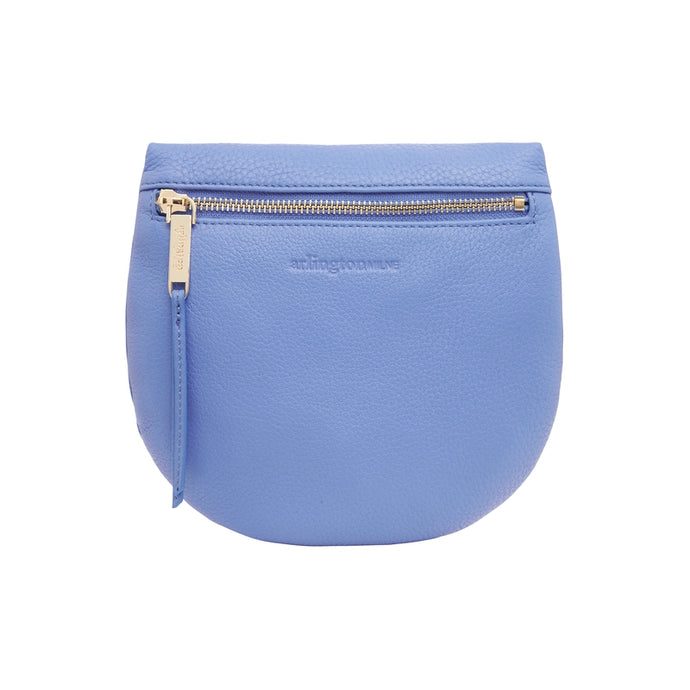 Macy Zip Clutch - Cornflower Blue