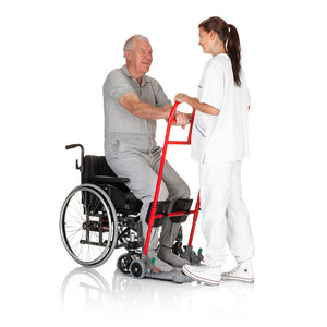 Sit-to-stand aid | Handicare SystemRoMedic ReTurn7500 patient – VIVA Mobility