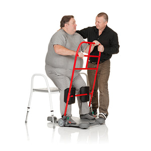 Sit-to-stand aid | Handicare SystemRoMedic ReTurn7600 bariatric patient – VIVA Mobility