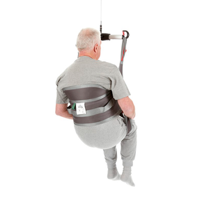 Handicare SystemRomedic HygieneSling user back view