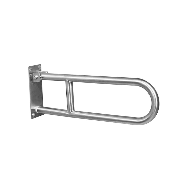 Folding Grab Bar, Arm Supports – Stainless Steel, Satin