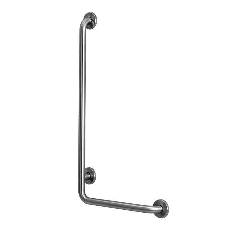 "L-Shaped Grab Bar (32""x16"") – Stainless Steel, Satin"