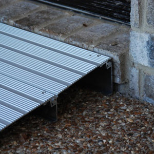 American Access Hero threshold ramp detail view – Wheelchair Ramps | VIVA Mobility