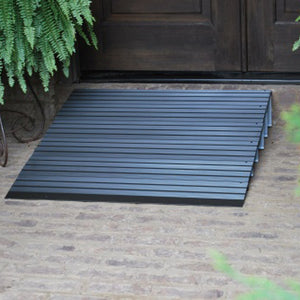 American Access Hero threshold ramp transition at entry – Wheelchair Ramps | VIVA Mobility