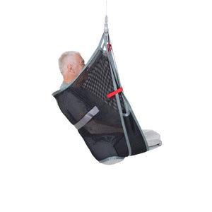 Handicare AmpSling Polyester Net user side view — Patient Slings | VIVA Mobility