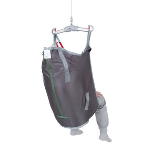 Handicare HighBackSling polyester back view – Patient Slings | VIVA Mobility