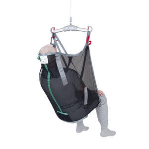 Handicare HighBackSling polynet back view – Patient Slings | VIVA Mobility