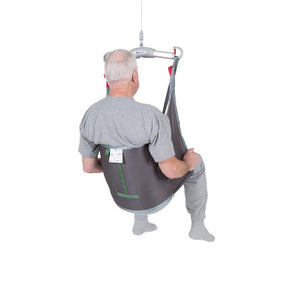 Handicare LowBackSling user back view — Patient Slings | VIVA Mobility