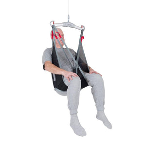 Handicare LowBackSling user polyester net fabric — Patient Slings | VIVA Mobility