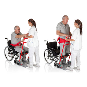 Handicare SystemRoMedic ReTurnBelt user sit to stand position