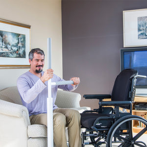HealthCraft Advantage Rail wheelchair user transfer support – Home Safety Solutions | VIVA Mobility