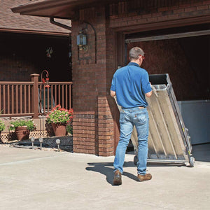 PVI Wheel-A-Bout Portable Folding Ramp trolley | VIVA Mobility