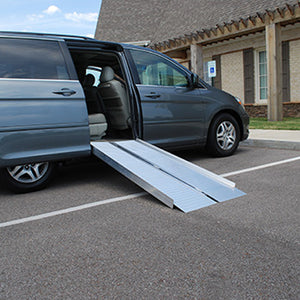 American Access Sidekick Folding Portable Wheelchair Ramp vehicle van