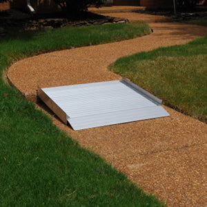 American Access Sidekick Solid Portable Wheelchair Ramp threshold