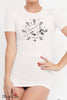 Black Cake Aquarius Cosmic Love Zodiac Tee