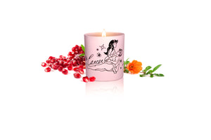 Zodiac Massage Candle Cancer, Pomegranate Fragrance