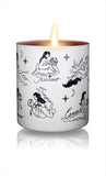 Cosmic Love Zodiac Massage Candle, Vanilla Fragrance