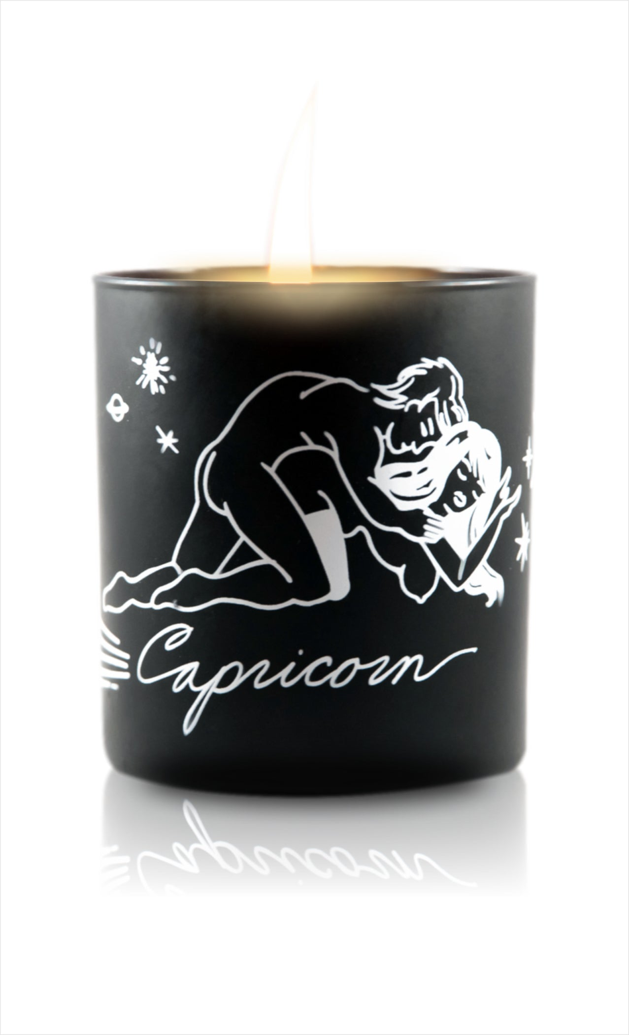 Zodiac Massage Candle Capricorn, Garden Floral Fragrance
