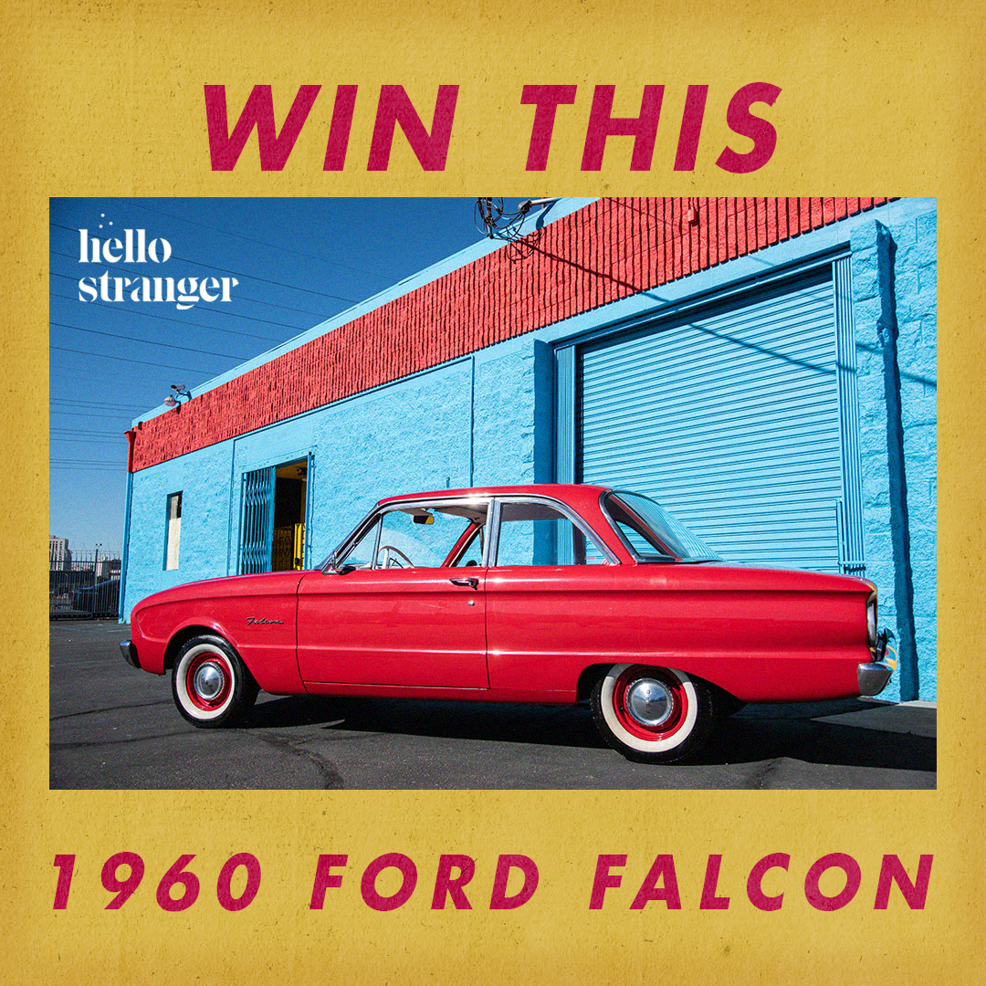 1960 Ford Falcon Raffle Ticket