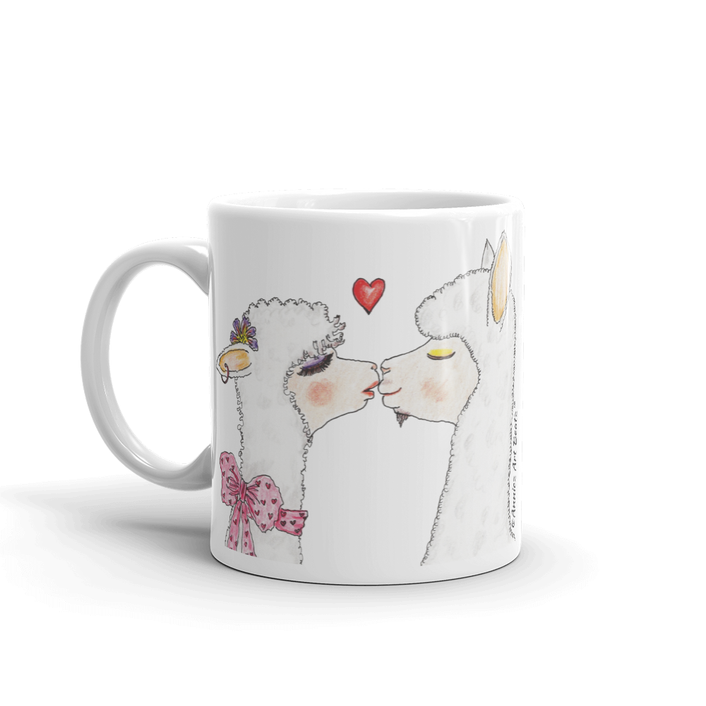 Coffee mug with artwork