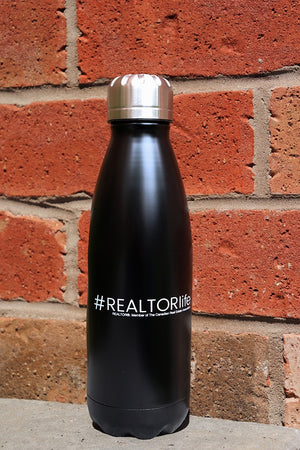 Insulated Water Bottle (#Realtorlife)