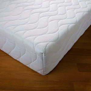 The Chesham features:  Luxurious 25cm thick mattress with firm support; 5cm of high quality visco-elastic memory foam; Quilted 'cool memory' cover is machine washable with full anti-dustmite and hypo-allergenic properties