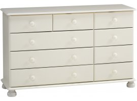 Arctic 2+3+4 Drawer Chest in White
