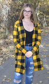 Faith Cardigan - Mustard