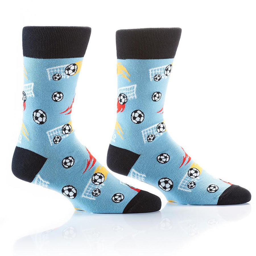 Mens Soccer Fun Day Socks