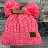 Bubble Gum Pink - Double PomPom
