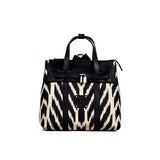 ABBEY IKAT BAG  - BLACK