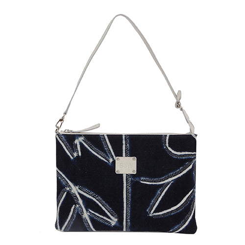 DANUBIUS BATIK CLUTCH/BAG-DARK NAVY