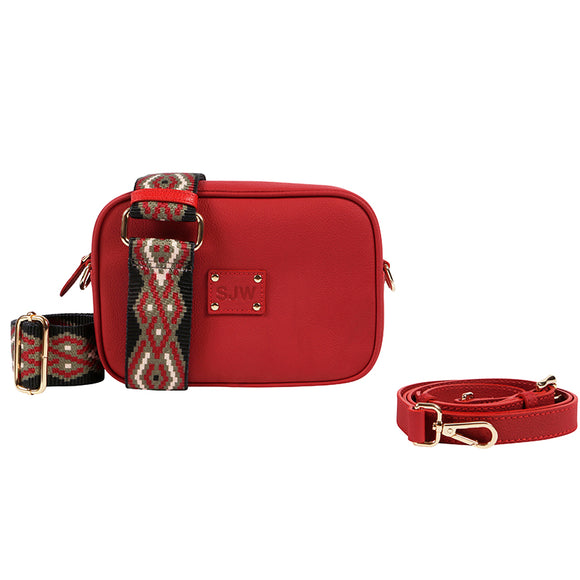 LITTLE VENICE BAG-POPPY RED