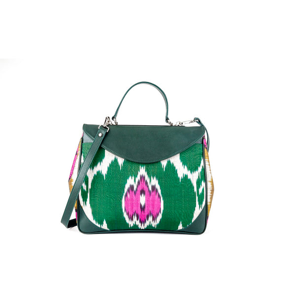 ACACIA IKAT BAG  - GREEN