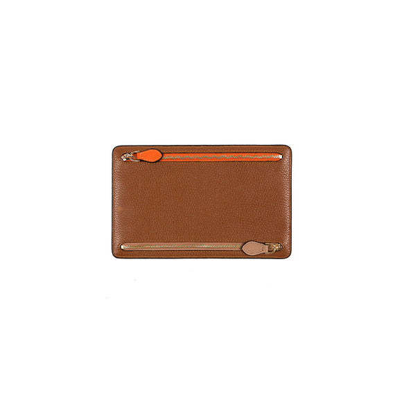 WELLINGTON WALLET  - COGNAC