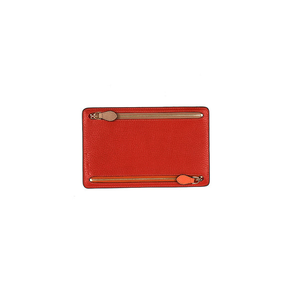 WELLINGTON WALLET  - BURNT ORANGE