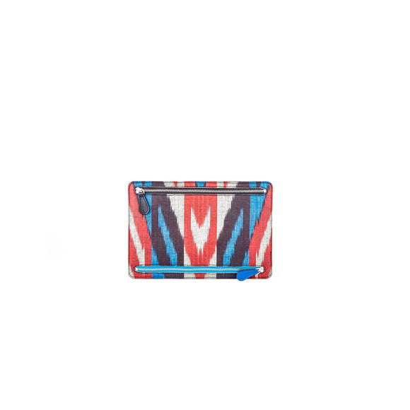 WELLINGTON WALLET - BLACK / IKAT