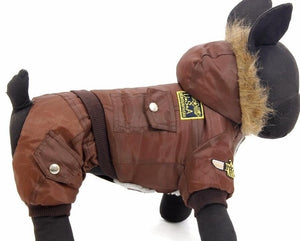 Winter Clothing Pet Dog Jumpsuit